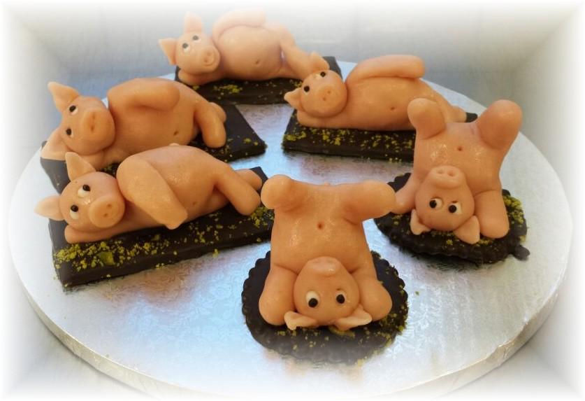 Melinas Yogaschweinchen